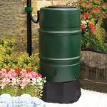 Harcostar 227 Litre Water Butt Free Rain Trap