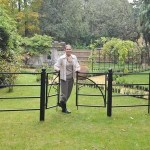 Estate Fence Gate – Arc Design