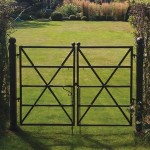 Estate Fence Gate – 'x' Brace Design