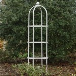 Harrod Steel Round Obelisks – Silk Grey
