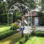 Harrod Roman Garden Arch – Silk Grey