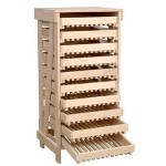 Traditional Beech Apple Rack