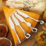 Mini Cheese Knife 4 Piece Set
