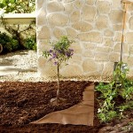 Brown Ground Cover Fabric