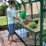 Freestanding Staging – 2 Tier – Pine Green